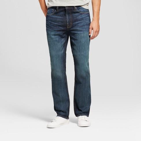 13d61d90 Men's Straight Fit Jeans - Goodfellow & Co™ Dark Wash : Target