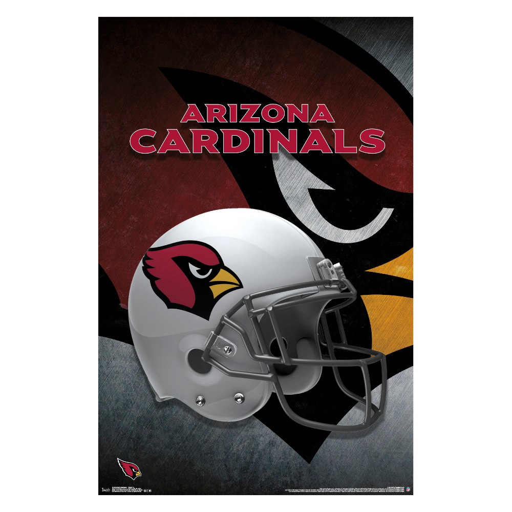 Arizona Cardinals Helmet Unframed Wall Poster