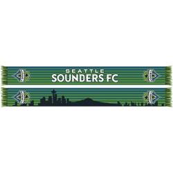 MLS Seattle Sounders Knit Skyline Scarf