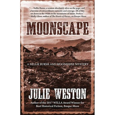 Moonscape - Large Print by  Julie Weston (Hardcover) - image 1 of 1