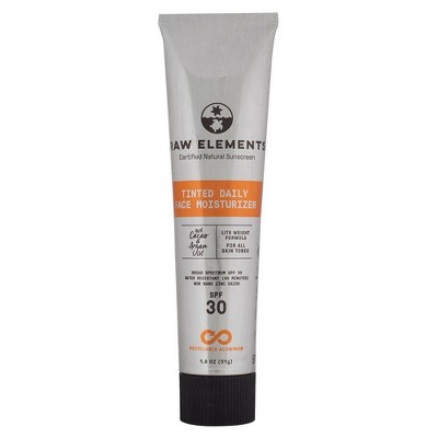 Raw Elements Tinted Daily Face Aluminum Tube - SPF 30 - 1.8 fl oz