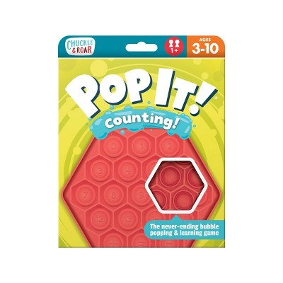 Chuckle & Roar Pop It! Counting Educational Travel Game