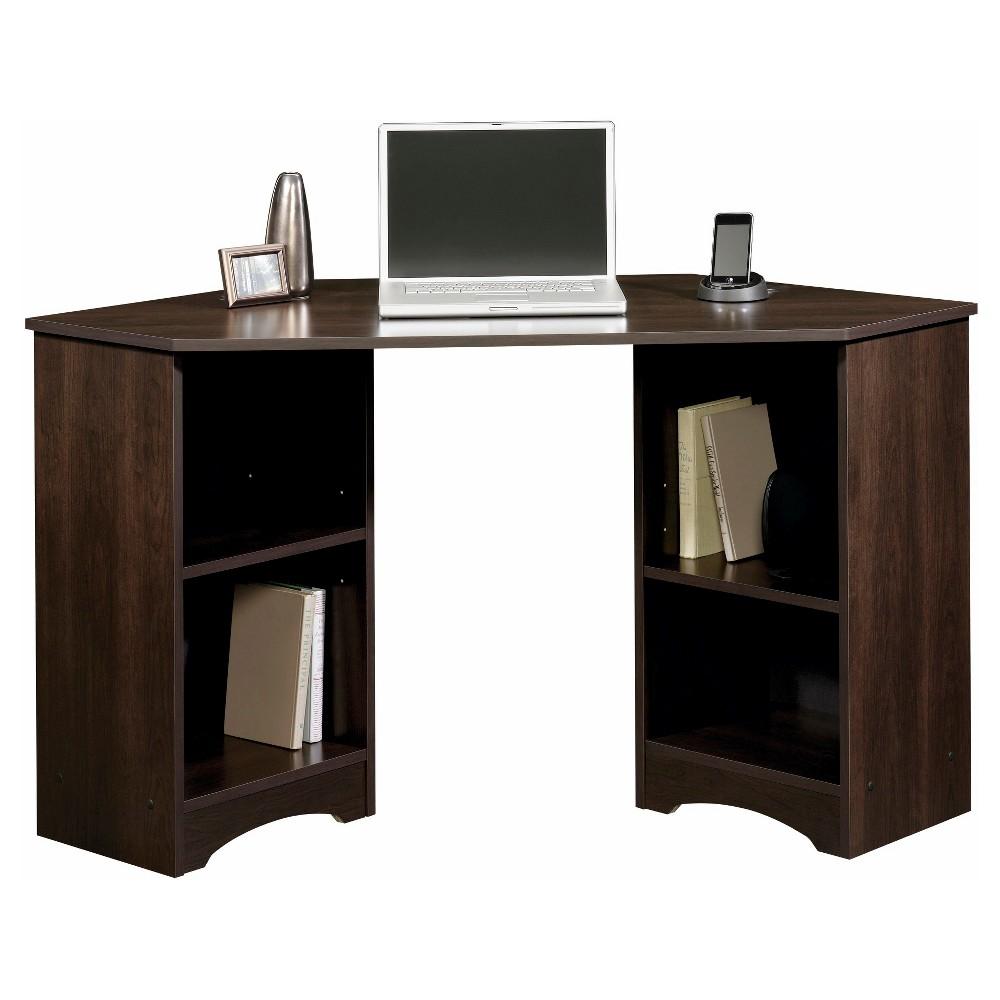 Beginnings Corner Desk - Cinnamon Cherry - Sauder, Red
