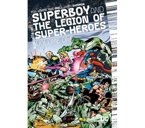 Superboy and the Legion of Super-Heroes 1 (Hardcover) (Paul Levitz) - image 1 of 1