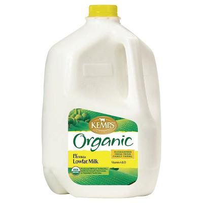 Kemps Organic 1% Milk - 1gal