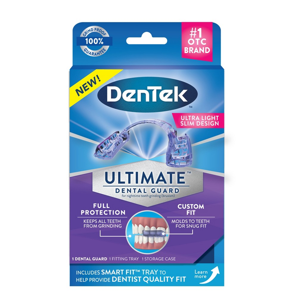 Image of DenTek Ultimate Dental Guard, Ultra Light Slim Design, Custom Fit, Nighttime Teeth Grinding