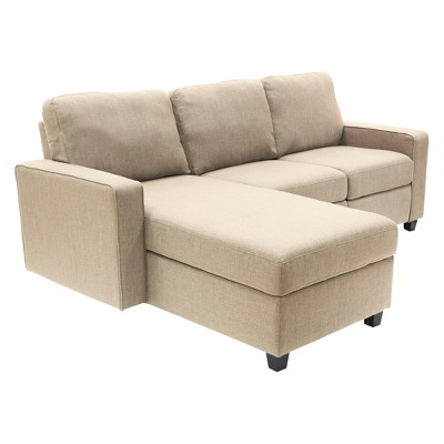 Palisades Reclining Sectional With Left Storage Chaise   Serta