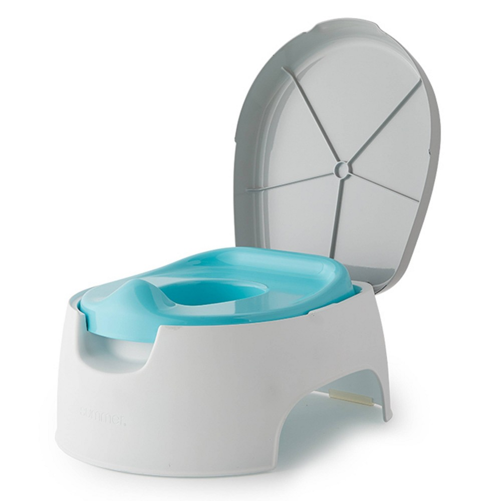 Image of Summer Infant 2-in-1 Step Up Potty, Gray Blue
