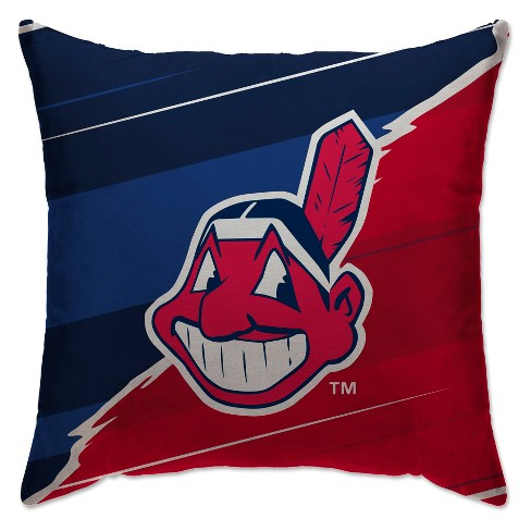 MLB Cleveland Indians Split Throw Pillow - image 1 of 1