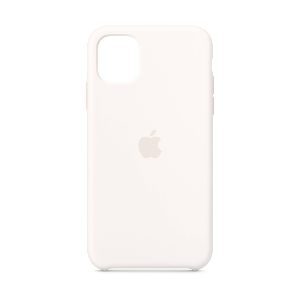 Apple iPhone 11 Silicone Case - White