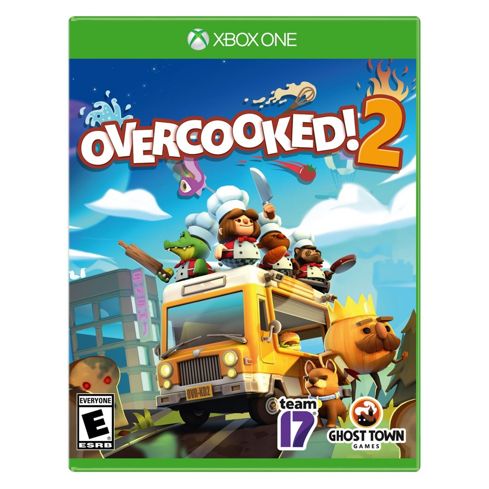 Overcooked! 2 - Xbox One, video games