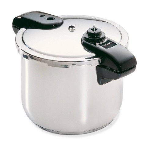 Presto 8qt Polished Stainless Steel Pressure Cooker - image 1 of 4