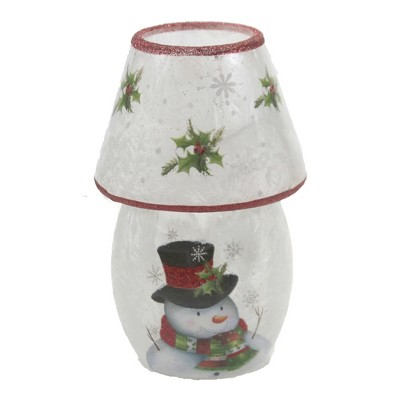 "Stony Creek 5.75"" Frosty Friends Pre-Lit Lamp Christmas Snowman  -  Decorative Vases"