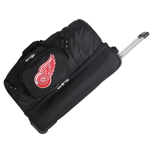 "NHL Detroit Red Wings Mojo 27"" Rolling Drop Bottom Duffel Bag - image 1 of 2"