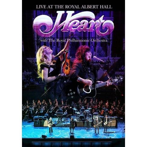 Heart: Live Royal Albert Hall with Royal Philharmonic (DVD) - image 1 of 1