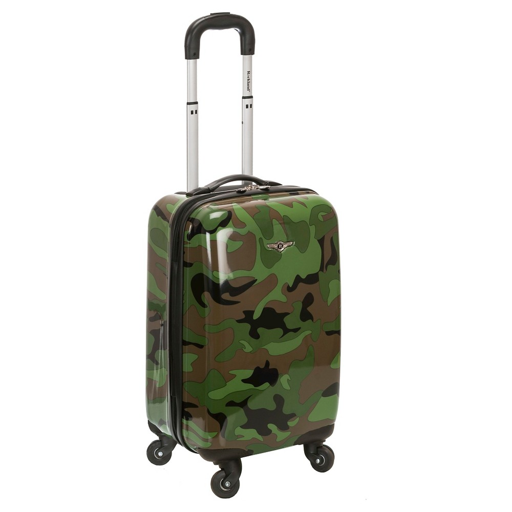 Rockland Sonic 20 Suitcase Set, Green
