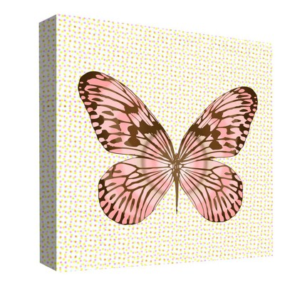"16"" x 16"" Rainbow Butterfly Decorative Wall Art - PTM Images"