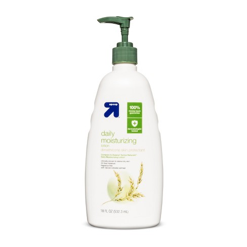 Unscented Daily Moisturizing Hand Lotion - 18oz - Up&Up™ (Compare to Aveeno Active Naturals Daily Moisturizing Lotion) - image 1 of 1