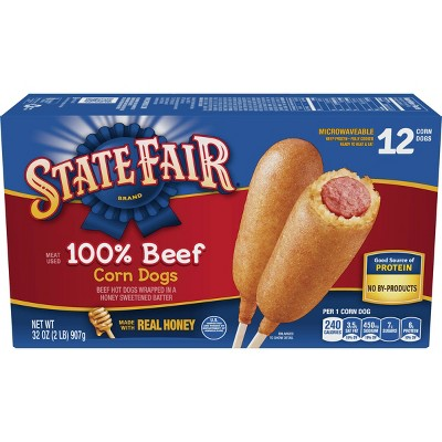 State Fair Beef Corn Stick - 32oz/12ct