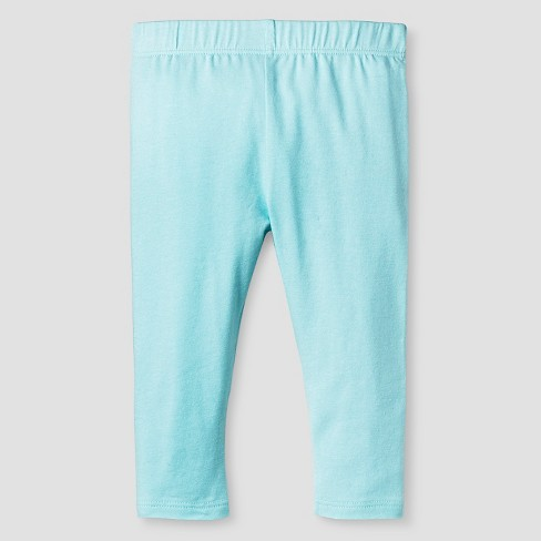 83583d93418ea Baby Girls' Solid Leggings - Cat & Jack™ Turquoise 0-3M : Target