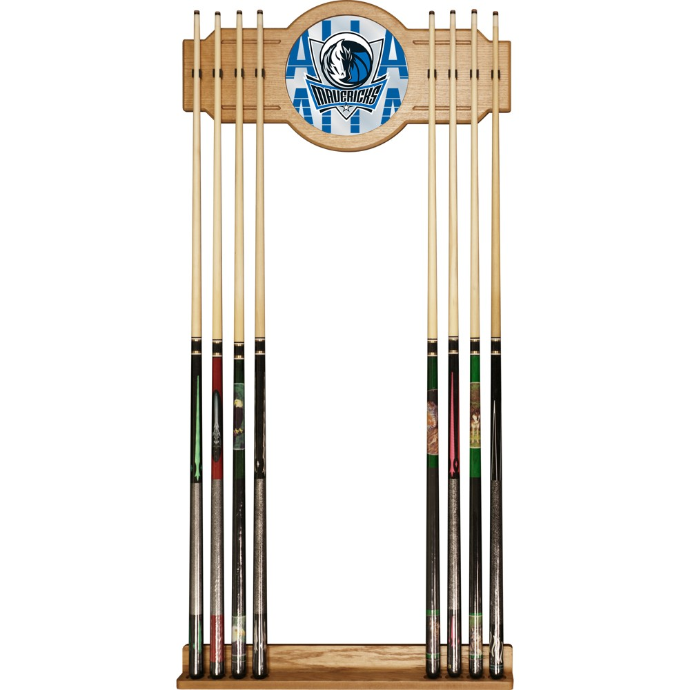 NBA Dallas Mavericks City Cue Rack with Mirror