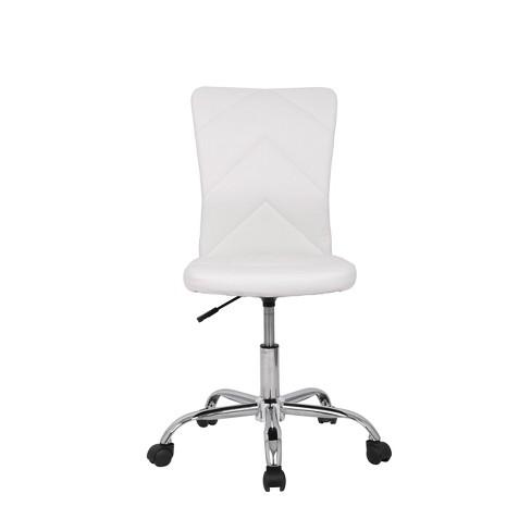 Amazing Piper Chevron Task Chair White Monroe James Bralicious Painted Fabric Chair Ideas Braliciousco