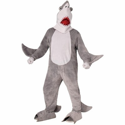 Forum Novelties Plush Chomper the Shark Adult Costume One Size Fits Most