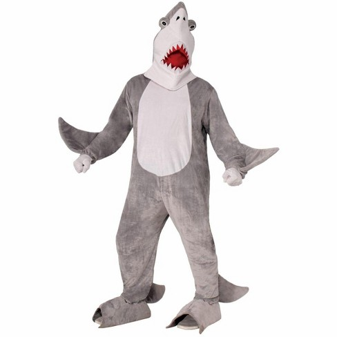 Forum Novelties Plush Chomper the Shark Adult Costume One Size Fits Most - image 1 of 1