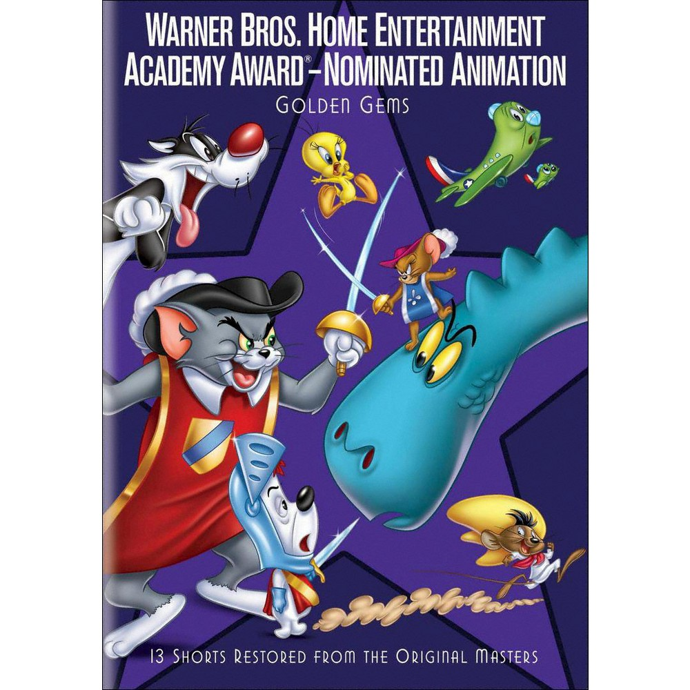Warner Academy Nominated Animated P2 (Dvd)