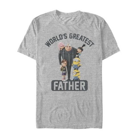 Men's Despicable Me World's Greatest Father T-Shirt - image 1 of 1