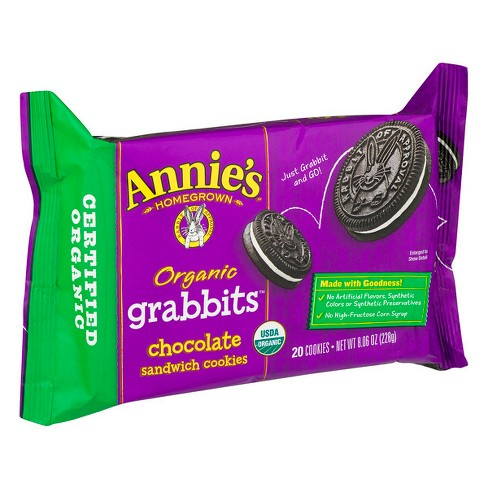 Annie's® Grabbits Chocolate Sandwich Cookie - 86oz - image 1 of 3