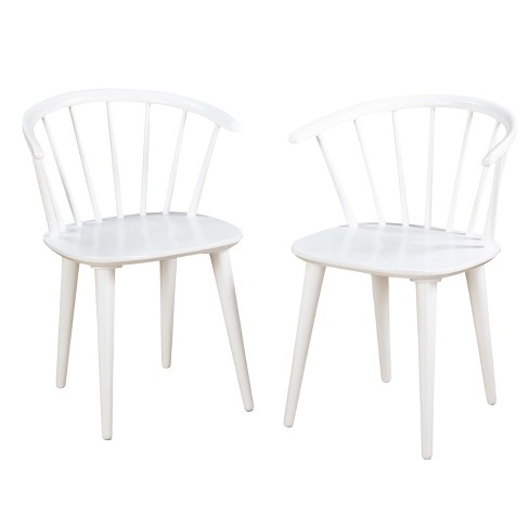 Set of 2 Dining Chair White - Target Marketing System - image 1 of 3