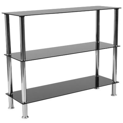 Riverside Storage Shelf Black - Riverstone Furniture