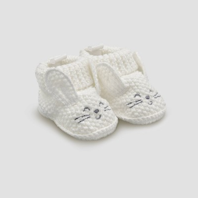 Baby Easter Bunny Slippers - Just One You® made by carter's White