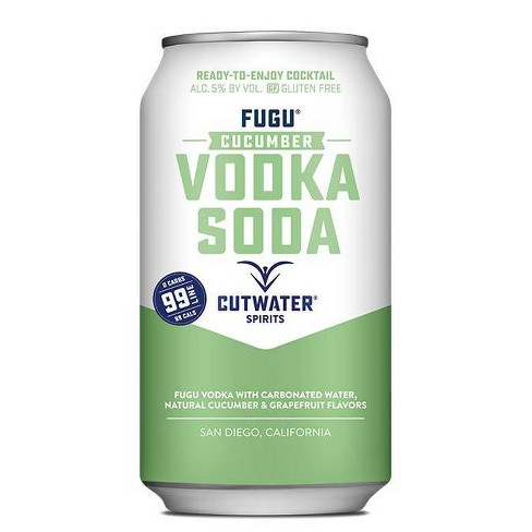 Cutwater Spirits Fugu Cucumber Vodka Soda - 12 fl oz Can - image 1 of 1