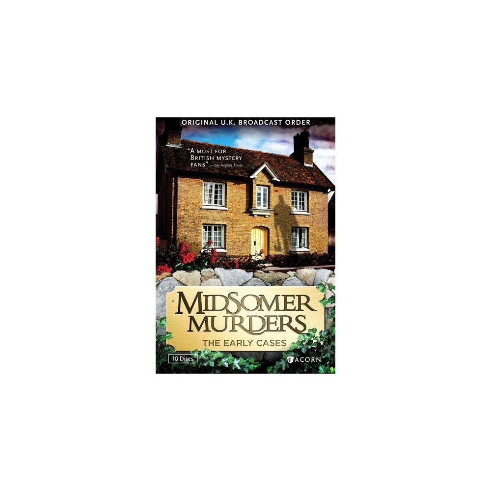 Midsomer Murders The Early Cases Dvd 2014