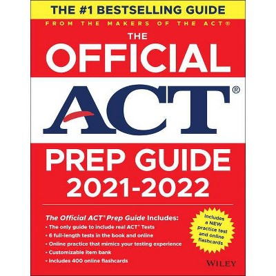 The Official ACT Prep Guide 2021-2022 - (Paperback)