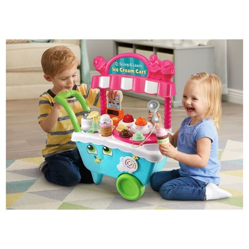Vtec Ice Cream Cart >> Leapfrog Scoop And Learn Ice Cream Cart Target