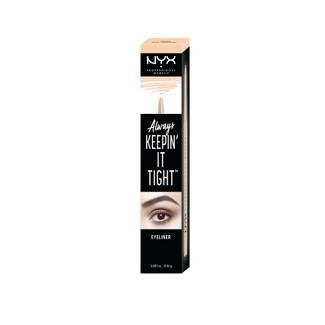 NYX Professional Makeup Always Keepin' It Tight Eyeliner Nude - 0.04oz
