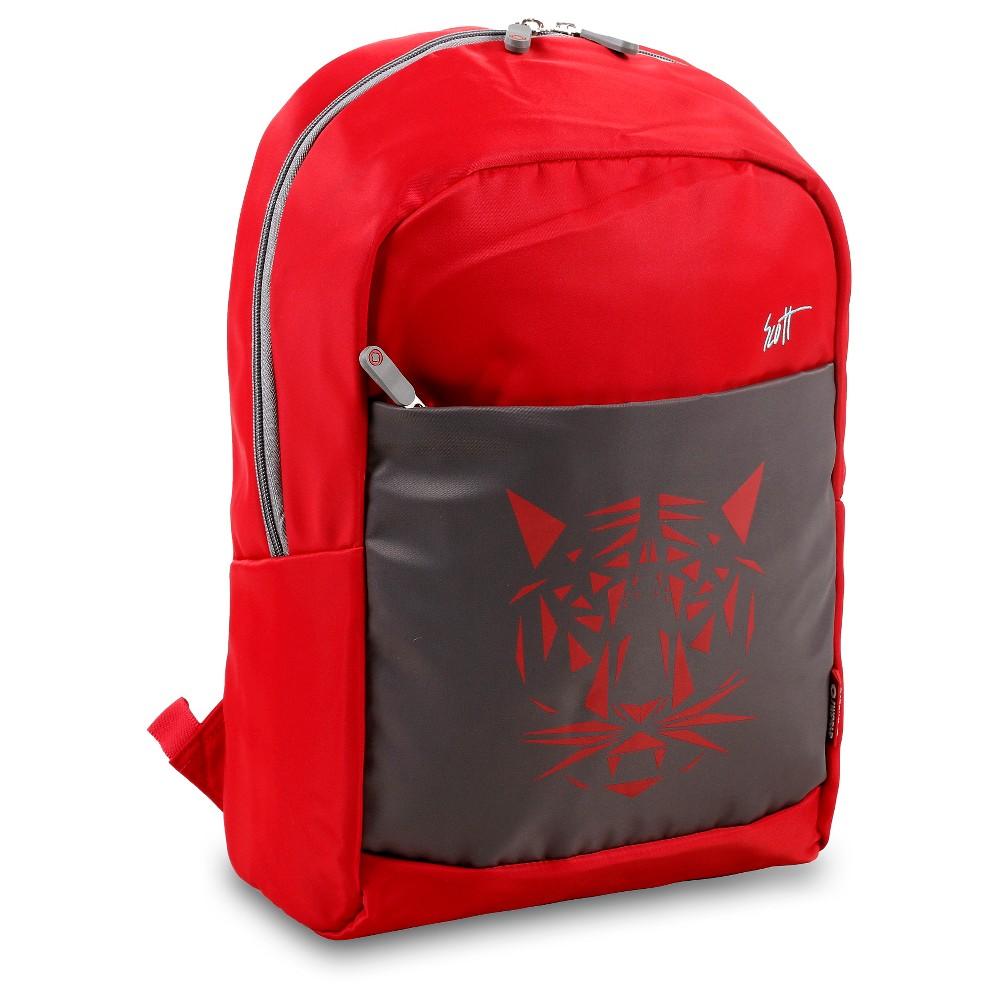 J World Scott Backpack - Red