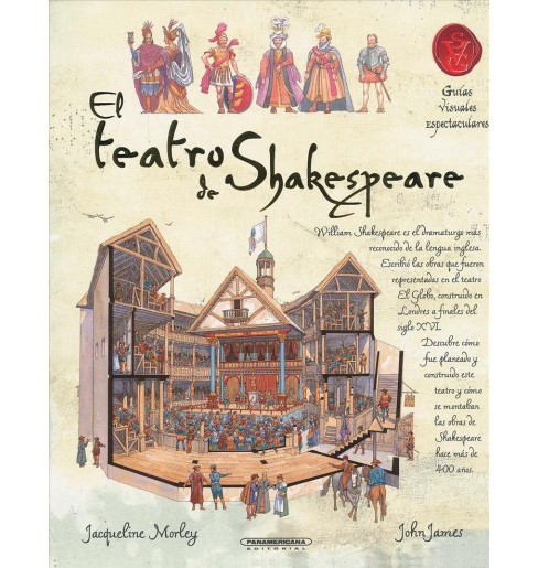 El teatro de Shakespeare/ A Shakespearan Theater -  by Jacqueline Morley (Paperback) - image 1 of 1