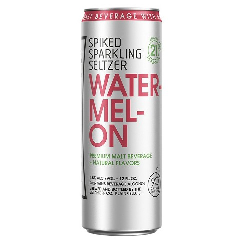 Smirnoff® Spiked Seltzer Watermelon - 6pk / 12oz Cans - image 1 of 1