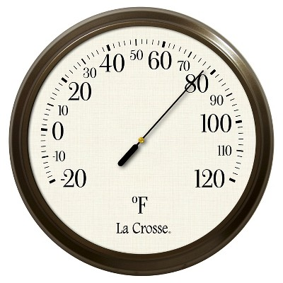La Crosse Technology Round Thermometer