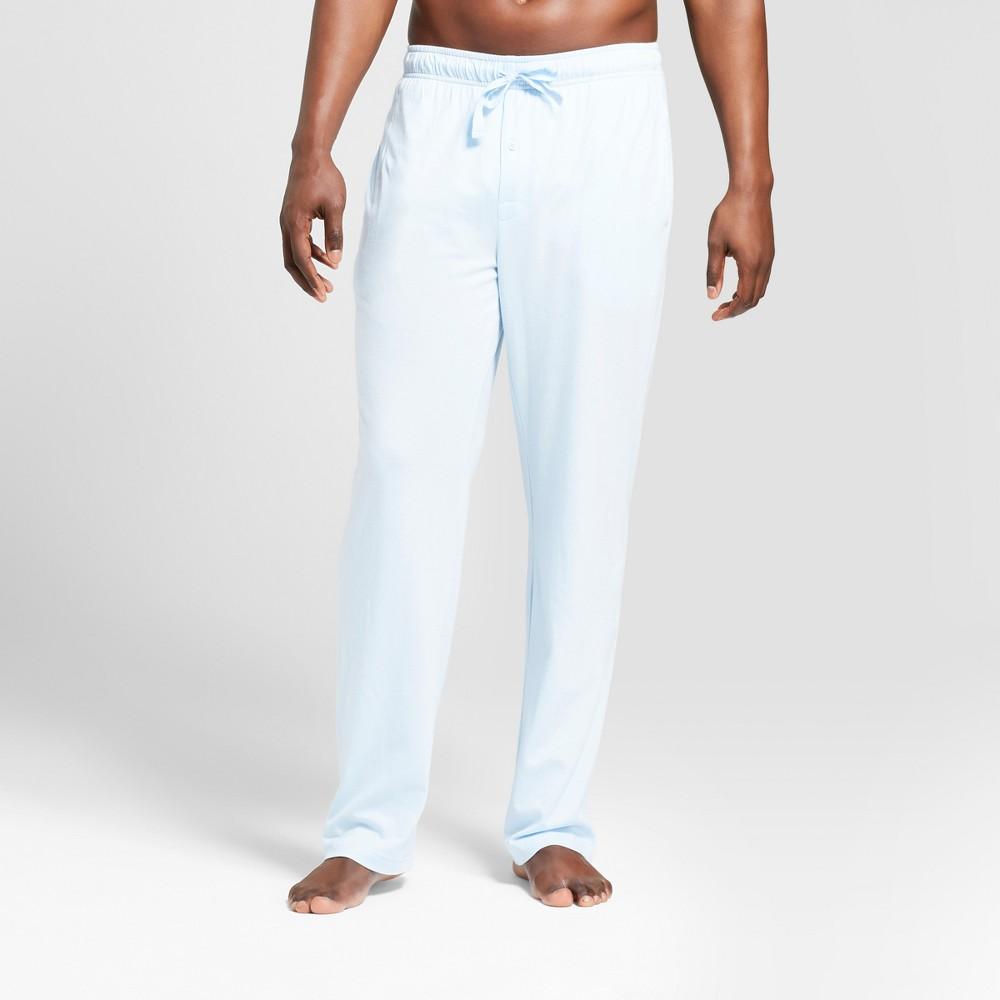 Men's Knit Pajama Pants - Goodfellow & Co Light Blue L, Bayshore Blue