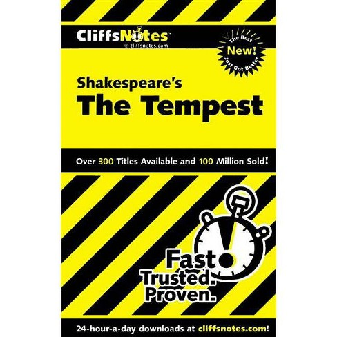 Cliffsnotes on Shakespeare's the Tempest - (Cliffsnotes Literature Guides) by  Sheri Metzger (Paperback) - image 1 of 1