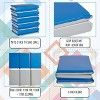 """ECR4Kids Value 3-Fold Daycare Rest Mat, Folding Nap Time Mat, 2"""" Thick, 5-Pack, Blue and Grey - image 4 of 4"""