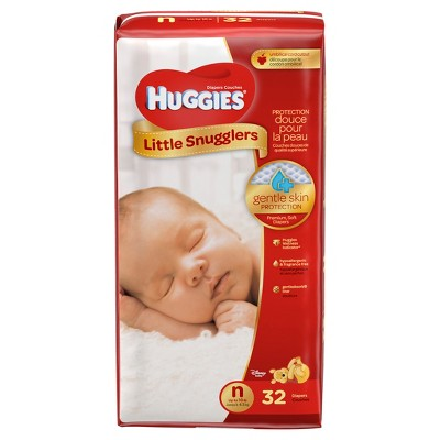 Huggies Little Snugglers Diapers - Newborn (32ct)