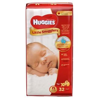 Huggies Little Snugglers Diapers - Newborn (32ct)