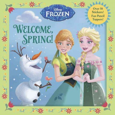 WELCOME, SPRING! - 8X8 by Andrea Posner-Sanchez (Paperback)