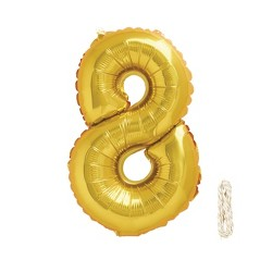 "1ct 34"" Number Balloon - Spritz™"